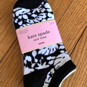 Three pack Kate spade no show socks. NEW
